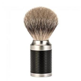 Muhle Rocca Badger Silvertip Black Shaving Brush