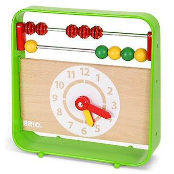 BRIO Abacus with Clock 30447