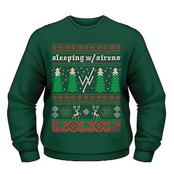 Sleeping With Sirens Christmas Tree Jumper XL