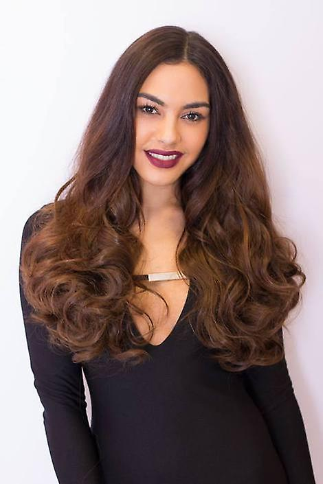 Premium 8 Piece Clip In Hair Extensions Curly Super Thick 250g