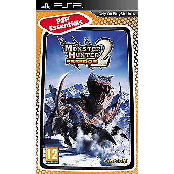 Monster Hunter Freedom 2 Essentials Edition Sony PSP spil
