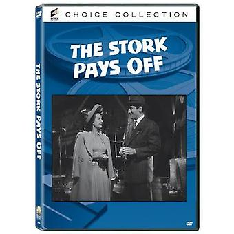 Stork Pays Off [DVD] USA import