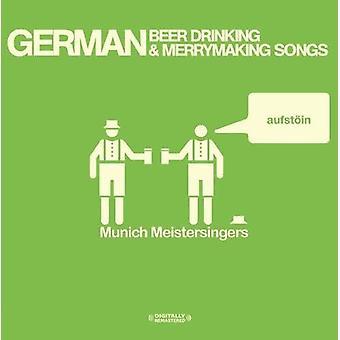 Munich Meistersingers - German Beer Drinking & Merrymaking Songs [CD] USA import