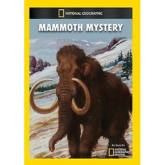 Mammoth Mystery [DVD] USA import