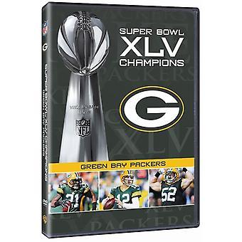 NFL Super Bowl 45 [DVD] USA importerer