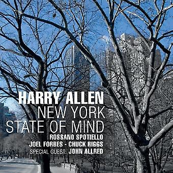 Harry Allen - New York State of Mind [CD] USA import