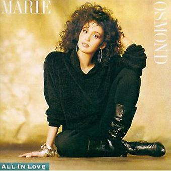 Marie Osmond - All in Love [CD] USA import