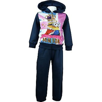Despicable Me Minions Girls Tracksuit Jogging Set PH1284