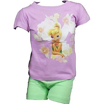 Disney Fairies Tinkerbell Girls Shortie Pyjamas