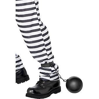 Convict ball caught prison