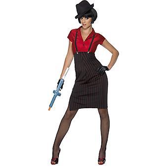 20s costume ladies mafia gangster's wife Lazurus mafia