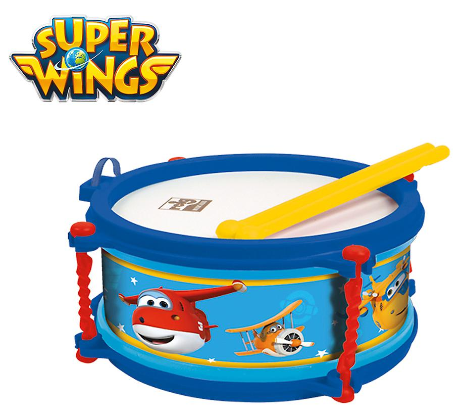 Reig Superwings Tambor Con Estuche 16 Cm
