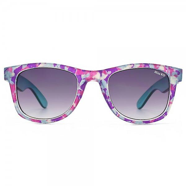 Miss KG Wayfarer Style Sunglasses In Crystal Multi Marble