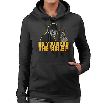 The Shepherd Jules Winnfield Pulp Fiction Women's Hooded Sweatshirt