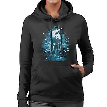 Samus Storm Metroid Women's Hooded Sweatshirt
