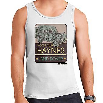 Haynes Motor Club Land Rover Herren Weste