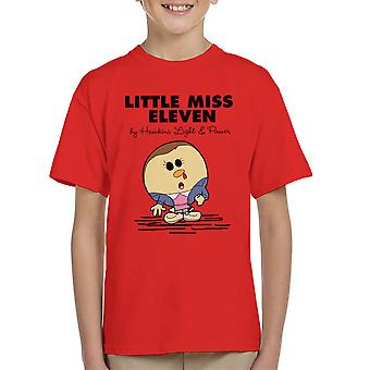 Stranger Things Little Miss Eleven Kid's T-Shirt