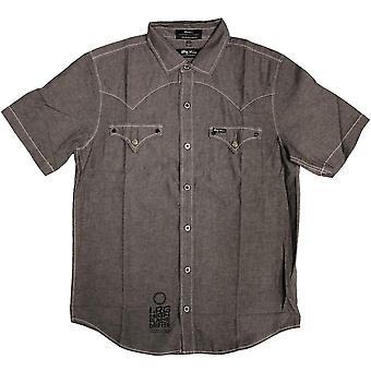 LRG High Moon Short Sleeve Shirt Black