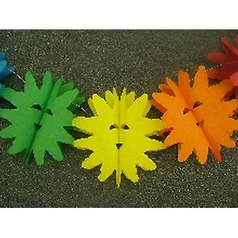 Decoration 'Happy Sun' Assorted Colour Garland (1)