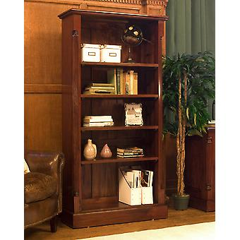 La Roque Tall Open Bookcase Brown - Baumhaus