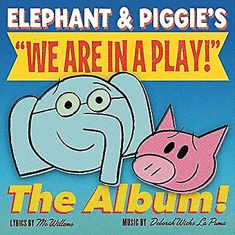 Willems La Puma - Elephant & Piggies We Are in a Play! [CD] USA import
