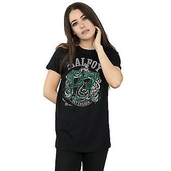 Harry Potter kvinnors Draco Malfoy Seeker Boyfriend Fit T-Shirt