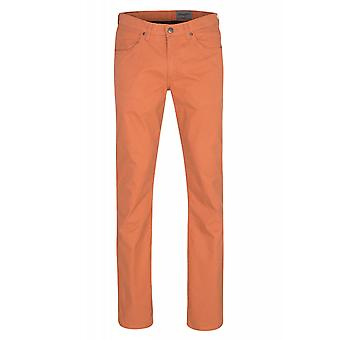 Wrangler Arizona stretch broek heren jeans oranje W12O-AN-73
