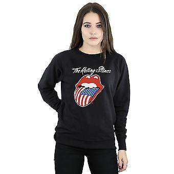 Rolling Stones kvinders amerikanske tungen Sweatshirt