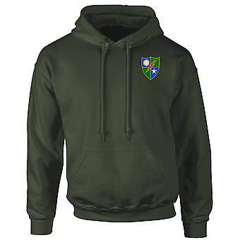 US Army 75th Ranger Regiment Embroidered Logo - Hoodie