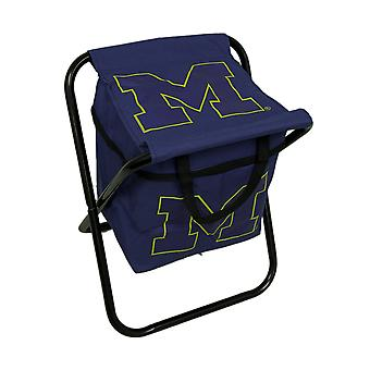 University of Michigan Wolverines Logo Portable Faltung Kühler Sitz