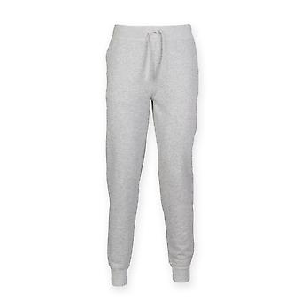 Skinnifit Mens Slim Cuffed Jogging Bottoms/Trousers