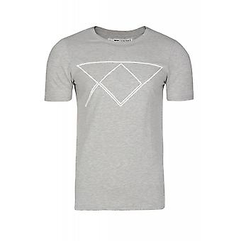 JUNK YARD Sam XY logo shirt mens T-Shirt grey print