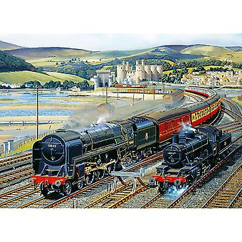 Gibsons Gateway til Snowdonia Jigsaw Puzzle (1000 stykker)