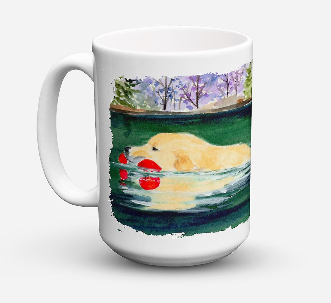 Golden Café Retriever Céramique Sûre Oz Micro ondes Lave Pour 15 Tasse vaisselle zVSGUqMp