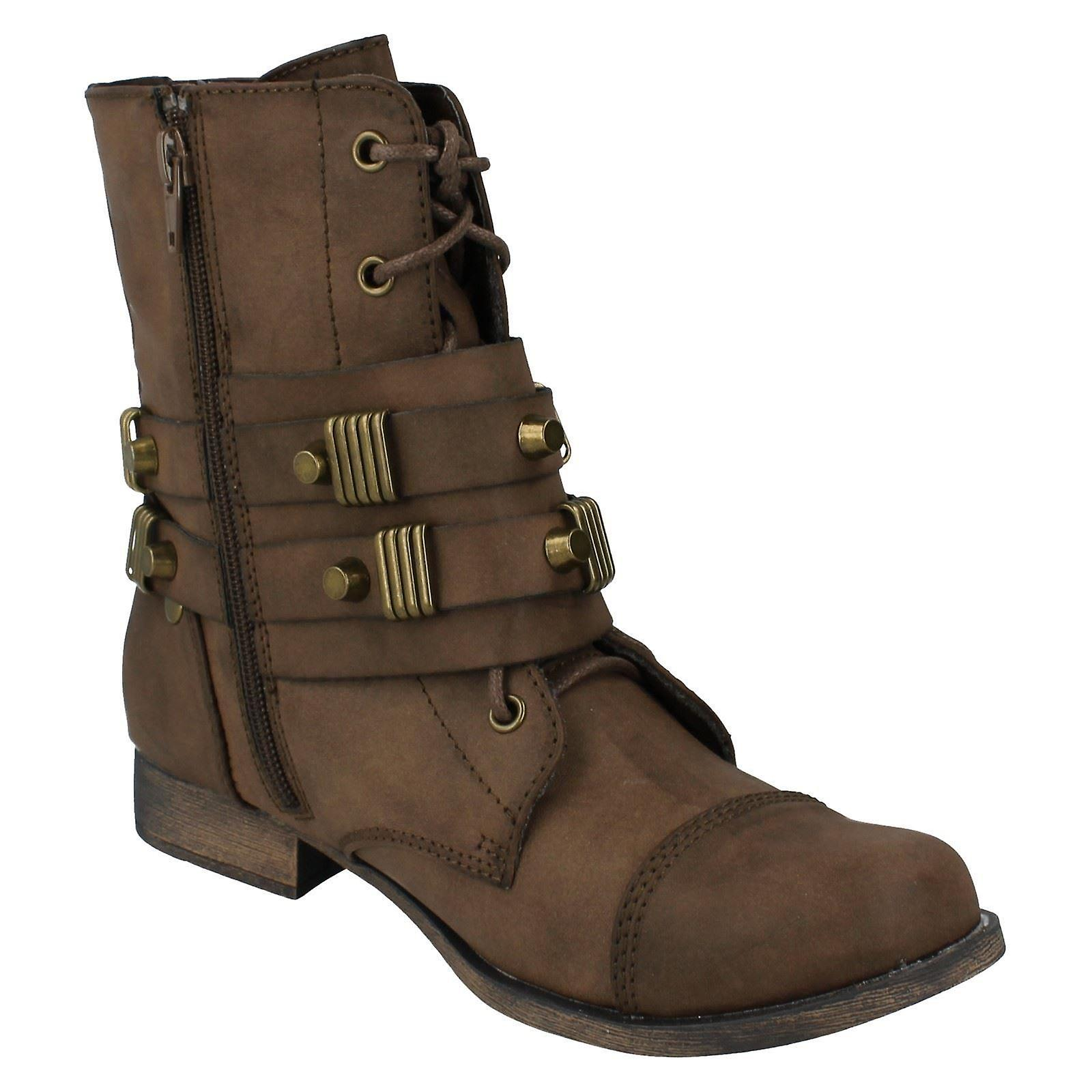 Ladies Coco Ankle Boots Style - L8635