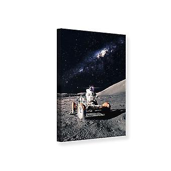 Canvas Print Astronaut werk