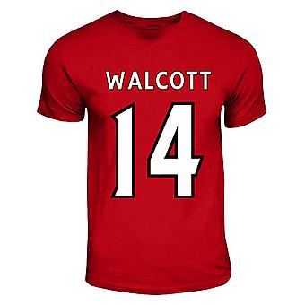 Theo Walcott Arsenal Hero T-shirt (red)