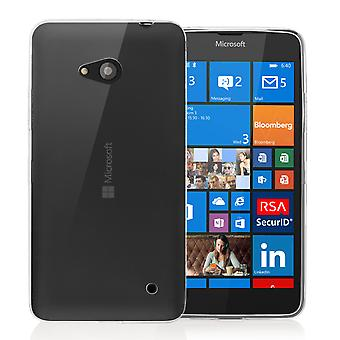 Yousave Accessories Microsoft Lumia 640 Ultra Thin Gel Case - Clear