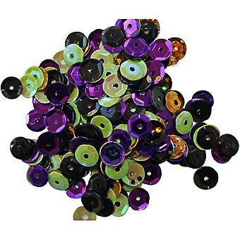 Clear Scraps Sequin Multi Pack 350 To 400 Pieces-Spooky CSSQ-SPOOK