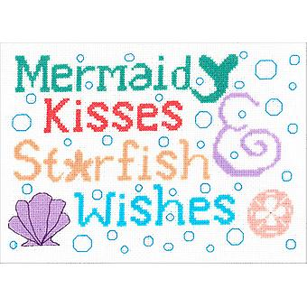 Mermaid Kisses Counted Cross Stitch Kit-9