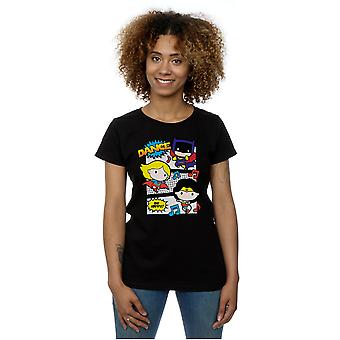 DC Comics Women's Chibi Super Friends Dance T-Shirt