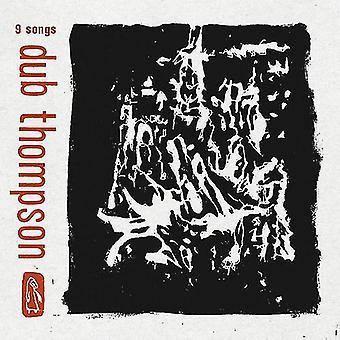 Dub Thompson - 9 sange (gennemsigtig sort Vinyl) [Vinyl] USA importerer