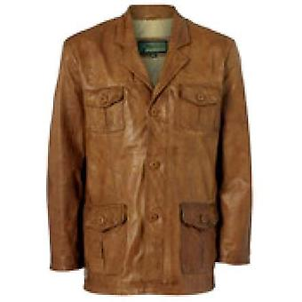 Cairo Mens Leather Jacket