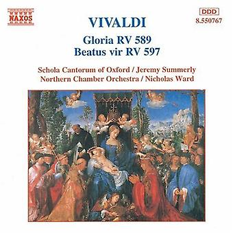 A. Vivaldi - Vivaldi: Gloria, Rv 589; Beatus Vir, importación USA Rv 597 [CD]