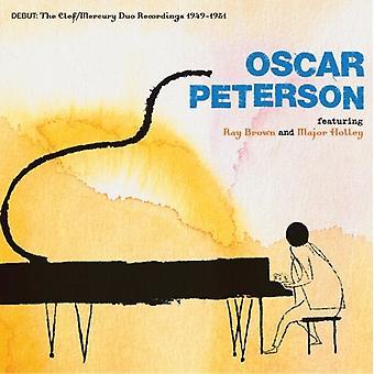 Oscar Peterson - Debut: Clef/kviksølv Duo optagelser 1949-51 [CD] USA import