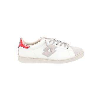 Lotto men's T4561WHITE White leather of sneakers