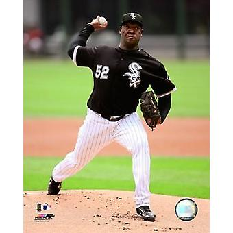 Jose Contreras 2008 Pitching Action Photo Print