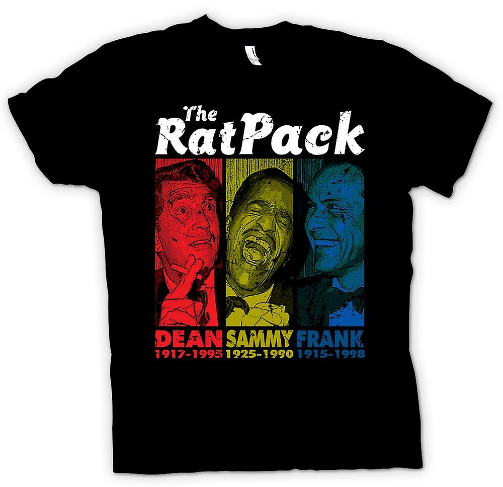 Womens T-shirt - Rat Pack - Dean Martin - Sammy - Frank Sinatra