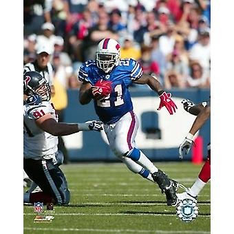 Willis McGahee 05  06 - Running Action Photo Print