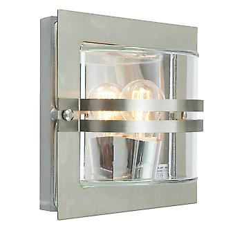 Stainless Steel E27  Frosted - 1 x 60W E27